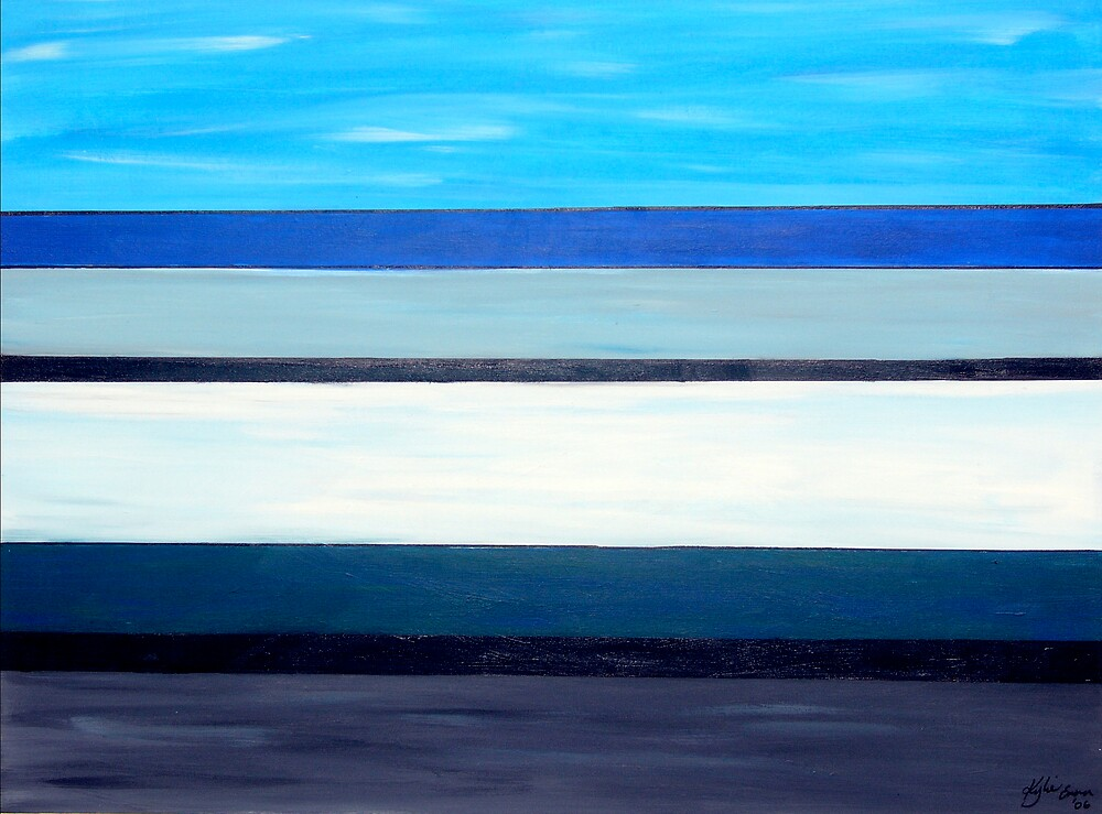 Across the road from the Beach by Kylie Blakemore