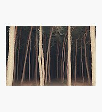 The Slender Man Photographic Print