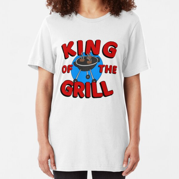 King of the Grill Slim Fit T-Shirt