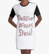 Massive Prawns, Stew Graphic T-Shirt Dress
