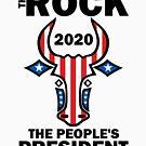 President Rock 2020 by HandDrawnTees