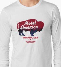 Motel America Long Sleeve T-Shirt