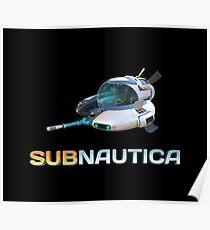 Subnautica Seamoth Poster