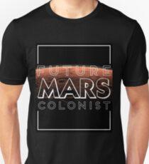 Future Mars Colonist - Black Version T-Shirt
