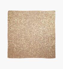 Copper Rose Gold Metallic Glitter Scarf