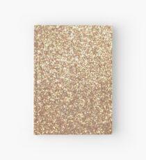 Copper Rose Gold Metallic Glitter Hardcover Journal