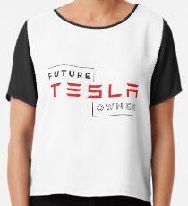Future Tesla Owner Chiffon Top