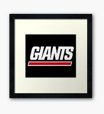 GIANTS Framed Print