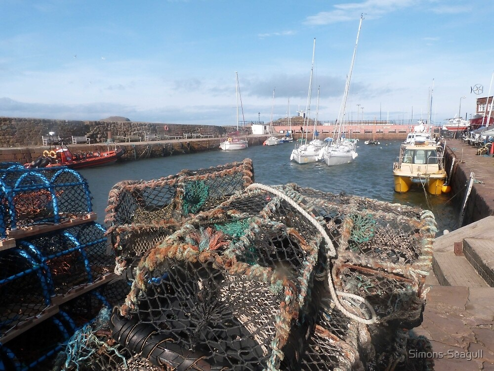 Crab Pots by Simons-Seagull