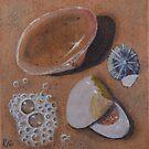 Seashells II by Carole Elliott