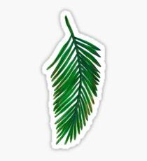 Pegatina Leaf One
