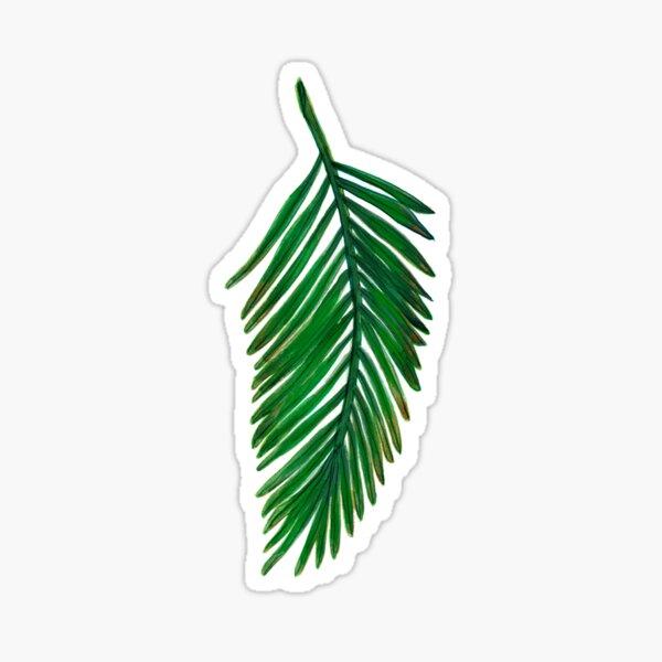 Leaf One Pegatina