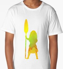 Princess Inspired Silhouette Long T-Shirt