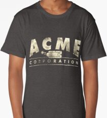 Acme Corporation Logo Long T-Shirt