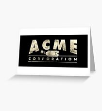 Acme Corporation Logo Greeting Card