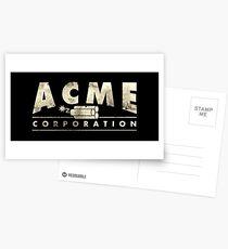 Acme Corporation Logo Postcards