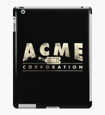 Acme Corporation Logo iPad Case/Skin