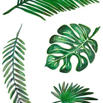 Conjunto de hojas de kopfabhase