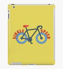 Single Speed Bike iPad Case/Skin
