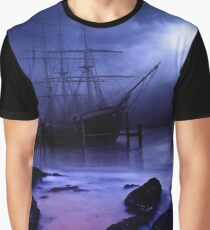 Ghost Ship Graphic T-Shirt