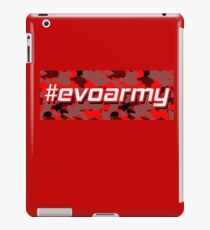 Evo Army (Red) iPad Case/Skin