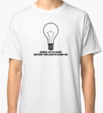 Arctic Monkeys // Leave Before the lights come on Classic T-Shirt