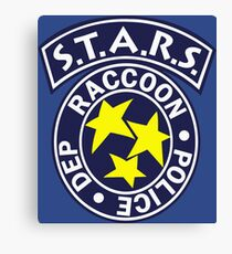 S.T.A.R.S. - RACCOON POLICE DEPT. - RESIDENT EVIL Canvas Print