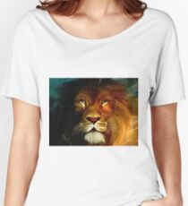 Midnight Lion Women's Relaxed Fit T-Shirt