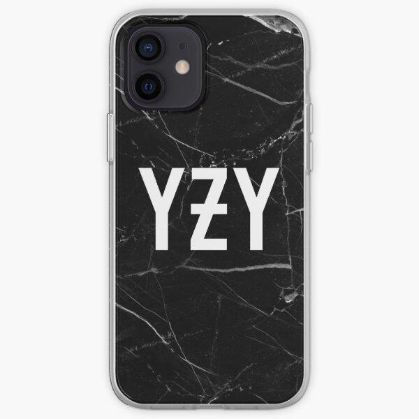 Fond de marbre YZY Coque souple iPhone