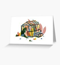 greenhouse Greeting Card