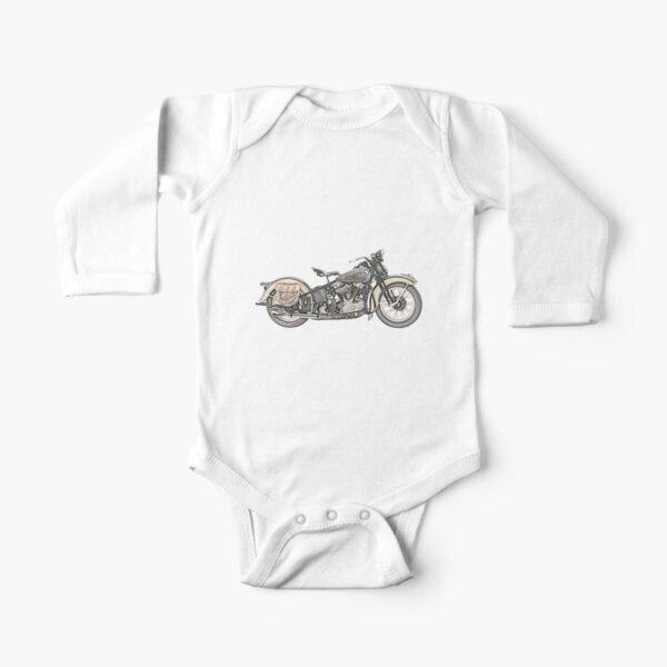 1936 Harley Davidson Moto Body manches longues