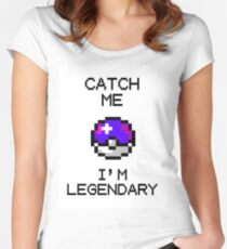 A great catch - special pixel edition Women's Fitted Scoop T-Shirt