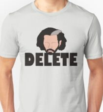 Delete Broken Hardy Unisex T-Shirt