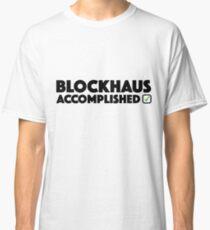 Blockhaus Accomplished Cycling Climb Giro Italy  Classic T-Shirt