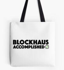 Blockhaus Accomplished Cycling Climb Giro Italy  Tote Bag