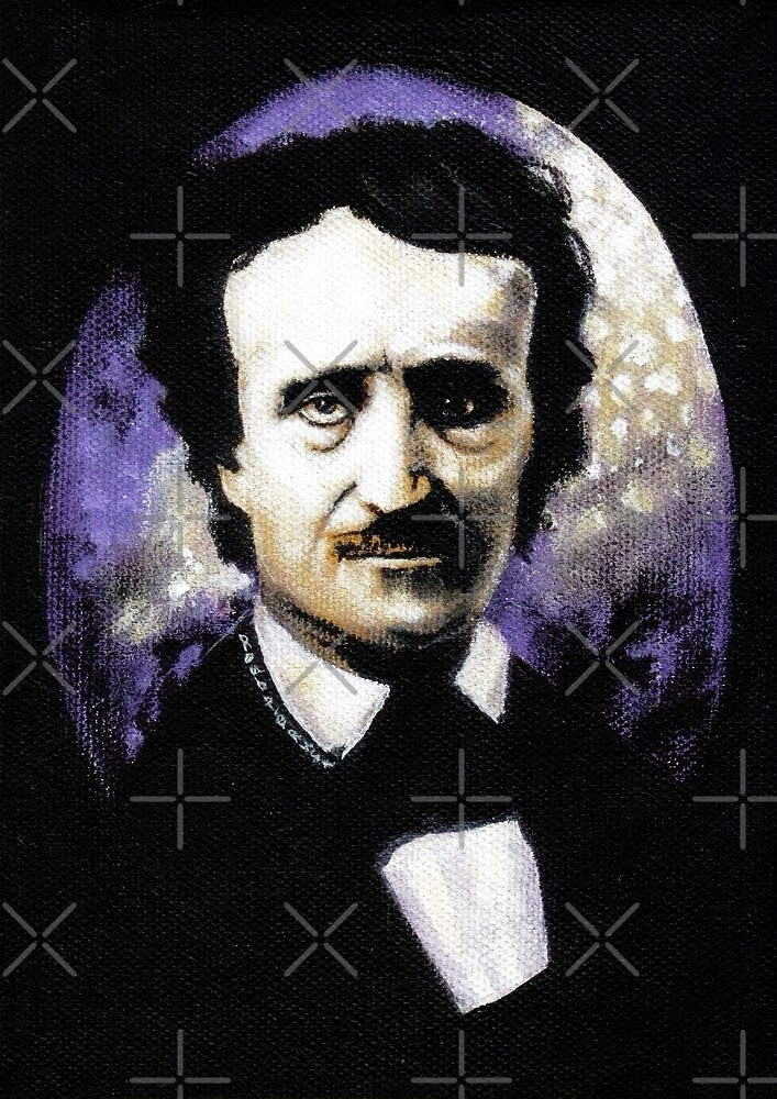 Edgar Allan Poe by ROUBLE RUST