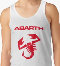 Abarth & scorpion (red) Tank Top