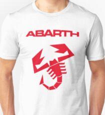Abarth & scorpion (red) Unisex T-Shirt