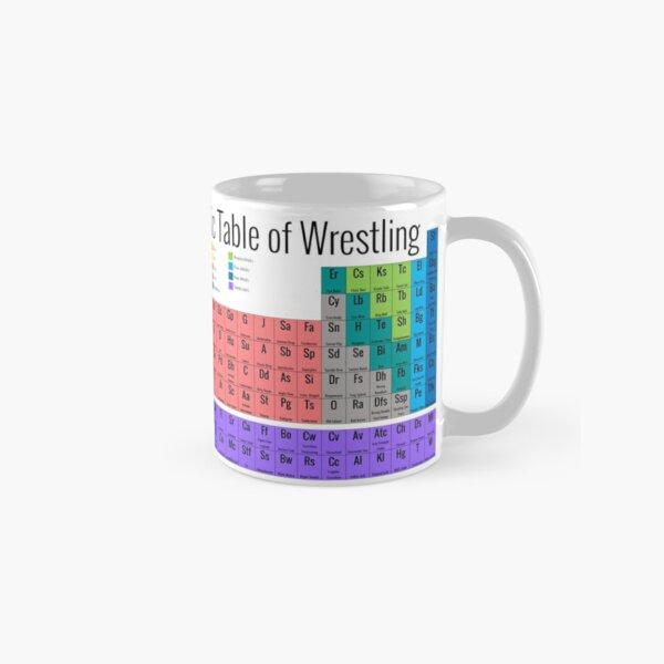 Periodic Table of Wrestling Classic Mug
