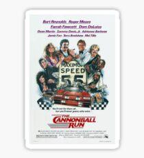 Cannonball Run Sticker