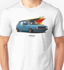 VW Golf 5 door mk1 Unisex T-Shirt