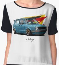 VW Golf 5 door mk1 Chiffon Top