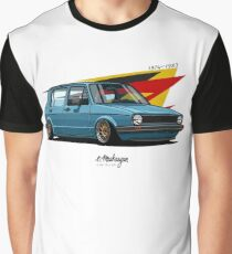VW Golf 5 door mk1 Graphic T-Shirt