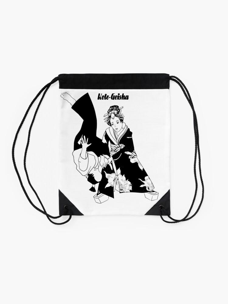 Sac à cordon ''Kote Geisha': autre vue