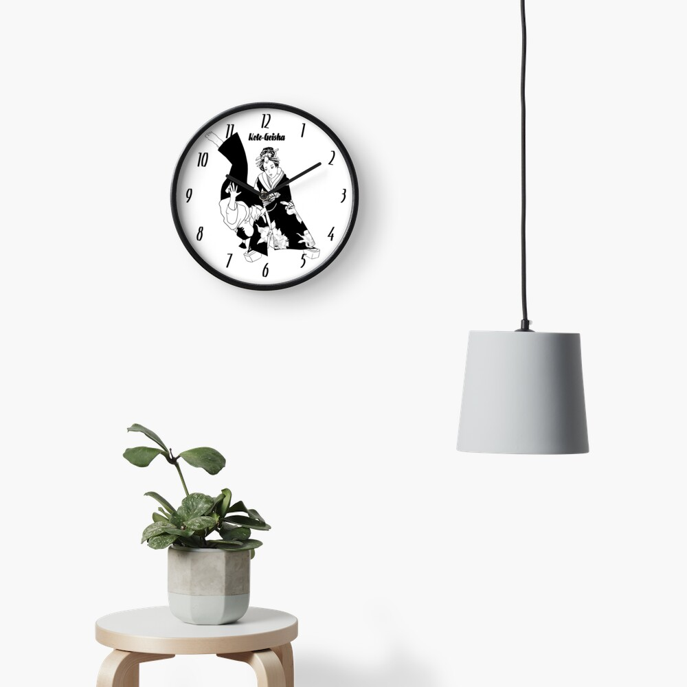 Horloge «Kote Geisha»