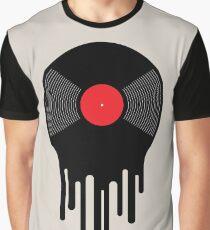 Liquid Vinyl Record Graphic T-Shirt