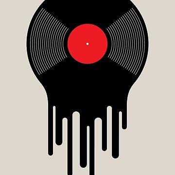 Liquid Vinyl Record by dinafiala