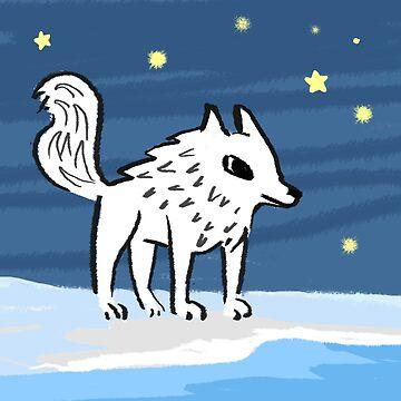 Cute Wolf by Kvyna