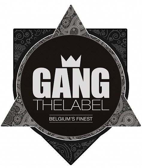 GANGTHELABEL Logo   White by belgiums-finest