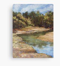 Lake Cathie - plein air Canvas Print